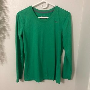Nike Dri Fit Long Sleeve Shirt